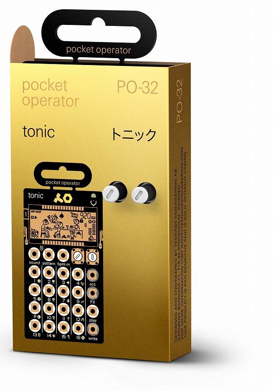 TEENAGE ENGINEERING ティーンエイジエンジニアリング / POCKET OPERATOR PO-32 TONIC ポケットシンセサイザー【渋谷店】