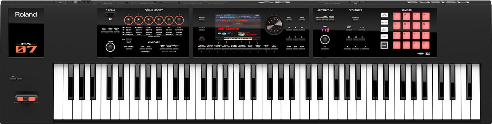 Roland ローランド / FA-07 Music Workstation 76鍵盤 シンセサイザー 【横浜店】 (FA07)