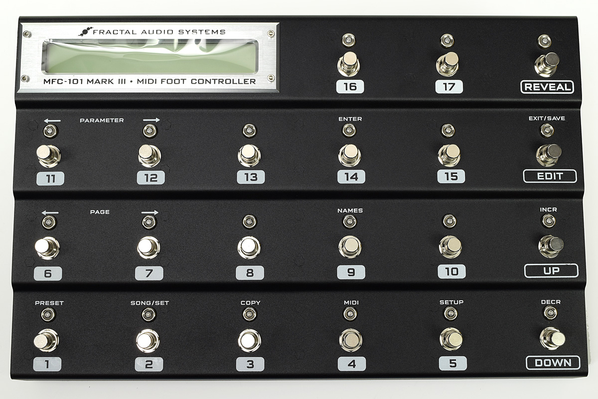 Fractal Audio Systems / MFC-101 Mark III MIDI Foot Controller【渋谷店】