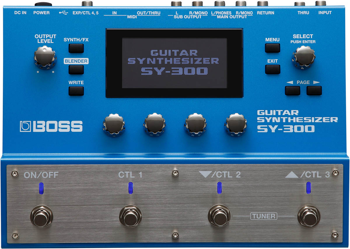 BOSS ボス / SY-300 Guitar Synthesizer ギターシンセサイザー 【渋谷店】