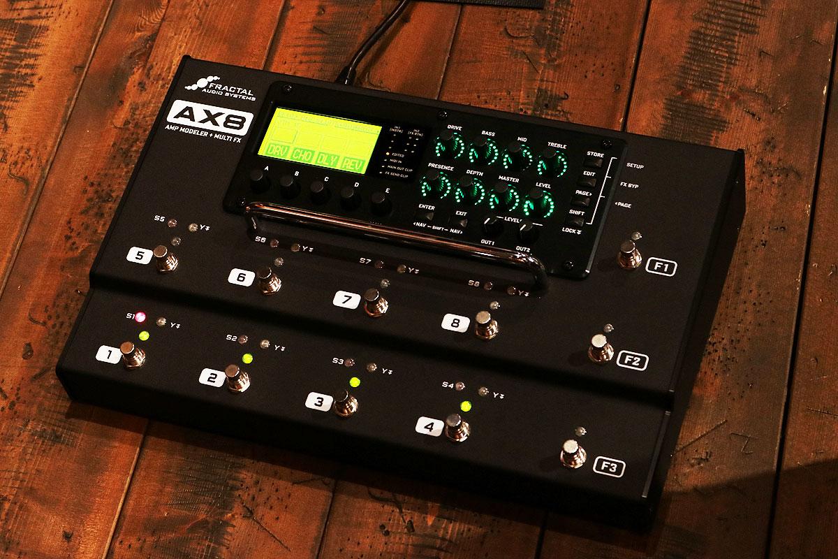 Fractal Audio Systems / AX8 AMP MODELER + MULTI FX【横浜店】