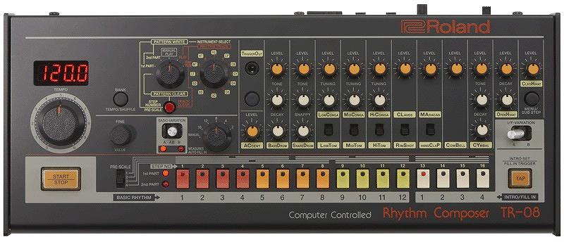 Roland ローランド / Boutique TR-08 Rhythm Composer ブティーク リズムマシン《予約注文/9月29日発売予定》【U-BOX_MEGA_STORE】