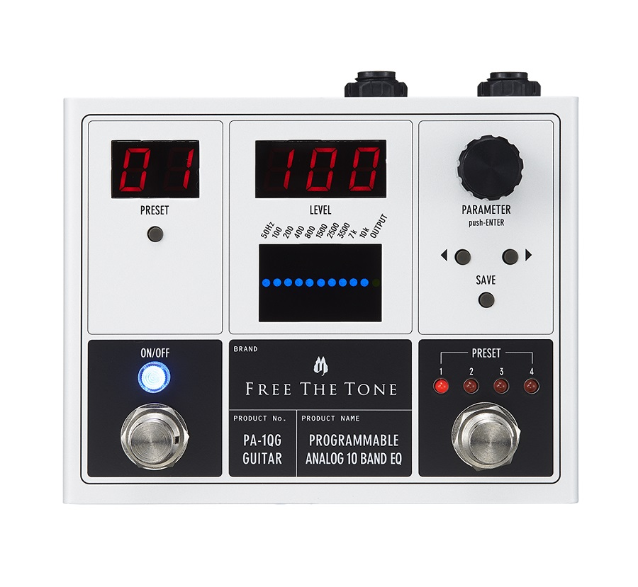 FREE THE TONE / PA-1QG ギター用 PROGRAMMABLEANALOG 10 BAND EQQ イコライザー【横浜店】