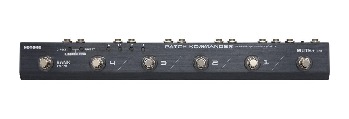 HOTONE / PATCH KOMMANDER LS-10 4 Channel Programmable Loop Switcher 《予約受付/12月中旬入荷予定》【御茶ノ水本店】