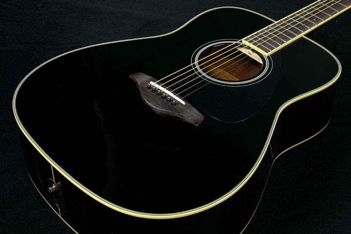 YAMAHA / FG-TA BL (Black) 【トランスアコースティックギター】【渋谷店】