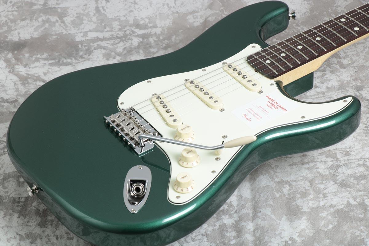 Fender / Made in Japan Hybrid 60s Stratocaster Sherwood Green Metallic【御茶ノ水本店】