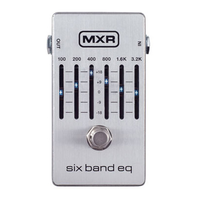 MXR / M109S Six Band Graphic EQ [グラフィックイコライザー]【渋谷店】