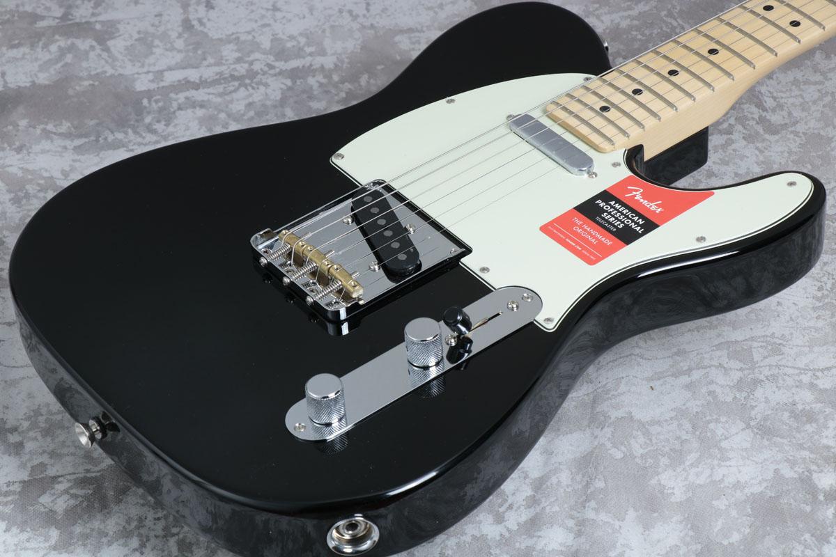 Fender USA / American Pro Telecaster Black Maple 【ボディキズあり特価】【御茶ノ水本店】