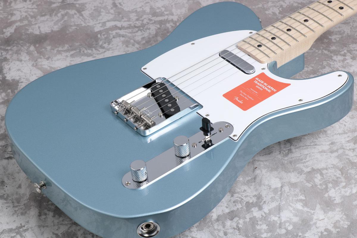 Fender / Made in Japan Traditional 70s Telecaster Ash Blue Ice Metallic / Maple Fingerboard【御茶ノ水本店】