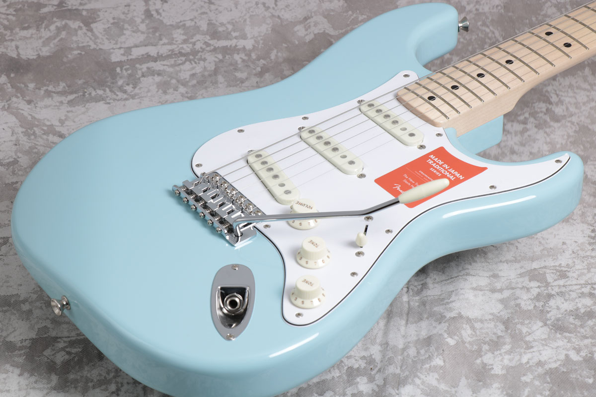 Fender / Made in Japan Traditional 70s Stratocaster Daphne Blue / Maple Fingerboard【御茶ノ水本店】