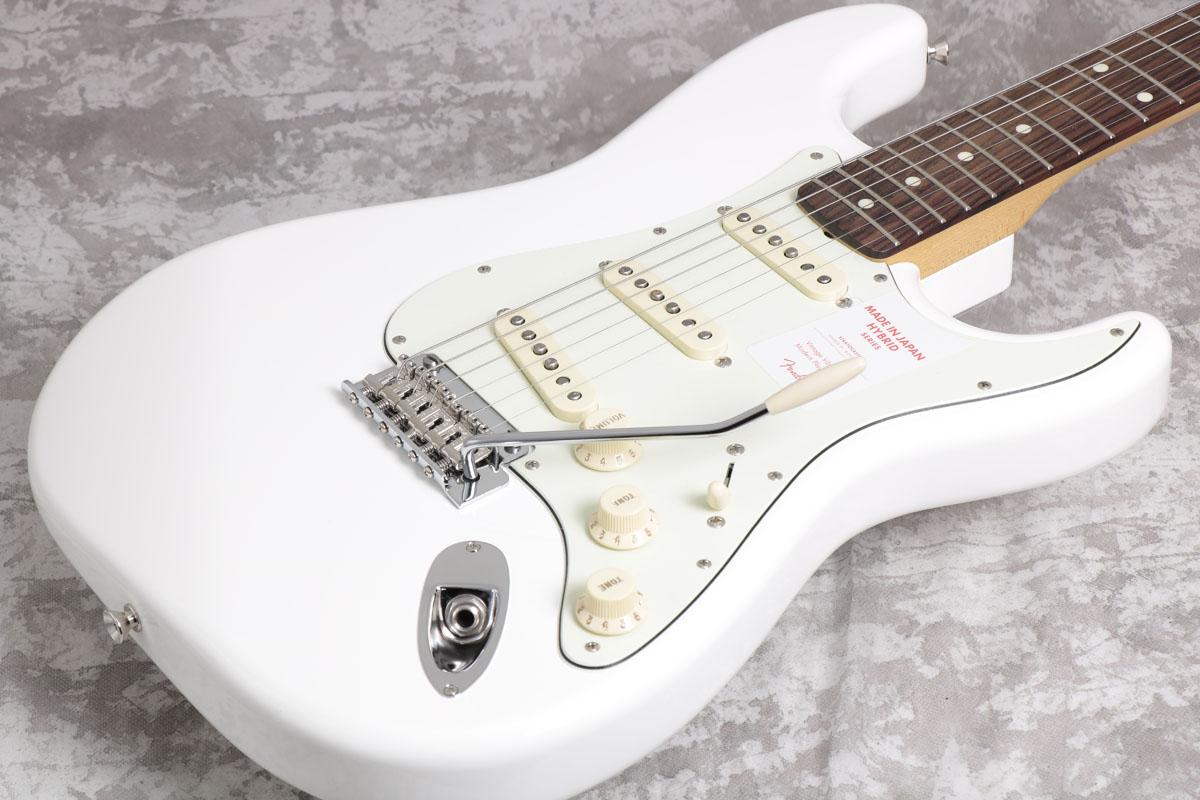 Fender / Made in Japan Hybrid 60s Stratocaster Arctic White【御茶ノ水本店】