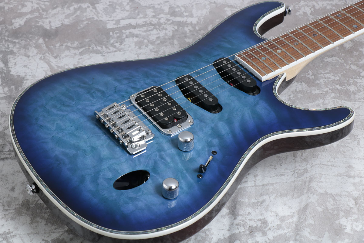 Ibanez / SA460QM-SPB (Sapphire Blue) アイバニーズ【S/N 4L171200496】【御茶ノ水本店】