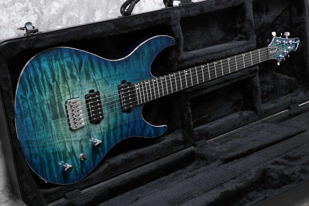 Acacia Guitars / Romulus 6 Modern 24f Baja Blue Burst アカシアギター 【S/N 1802】【御茶ノ水本店】