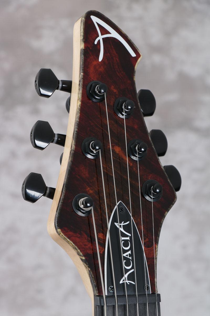 AcaciaGuitars/Romulus6Modern24fBuckeyeBurlTopWesternSunsetアカシアギター【S/N1802】