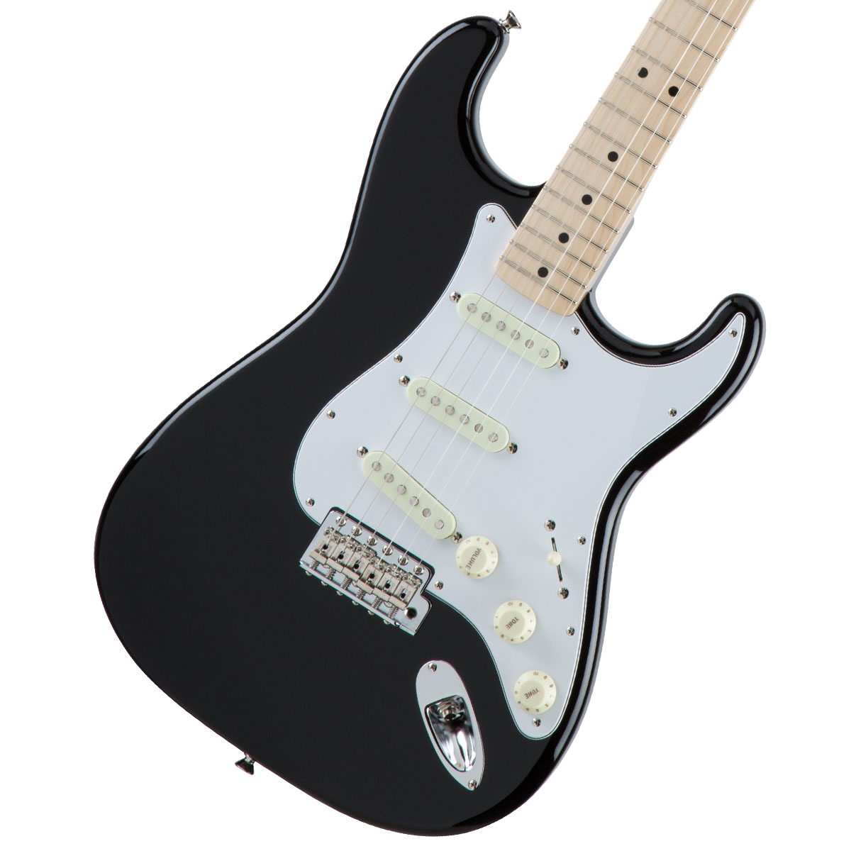 Fender / Made in Japan Traditional 70s Stratocaster Maple Fingerboard Black【新宿店】