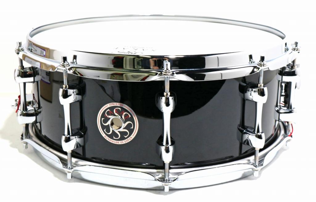 SAKAE / SD1455BC Real Black 14x5.5 The Almighty Birch Mighty Halo サカエ バーチ スネアドラム 《ソフトケース付属》【SHIBUYA_WEST】