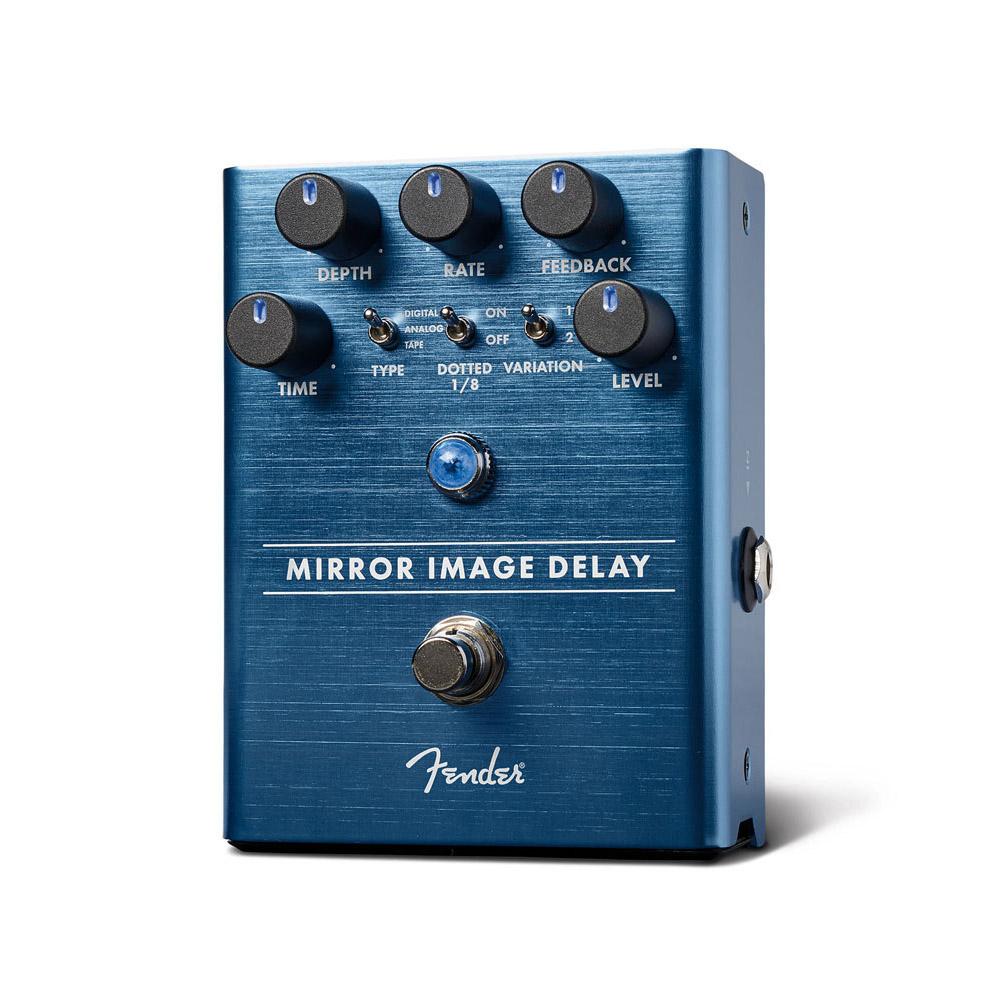 空間を鮮やかに彩るディレイペダル Fender Mirror 送料無料 新品 Image 着後レビューで 送料無料 Pedal ディレイ 御茶ノ水本店 Delay