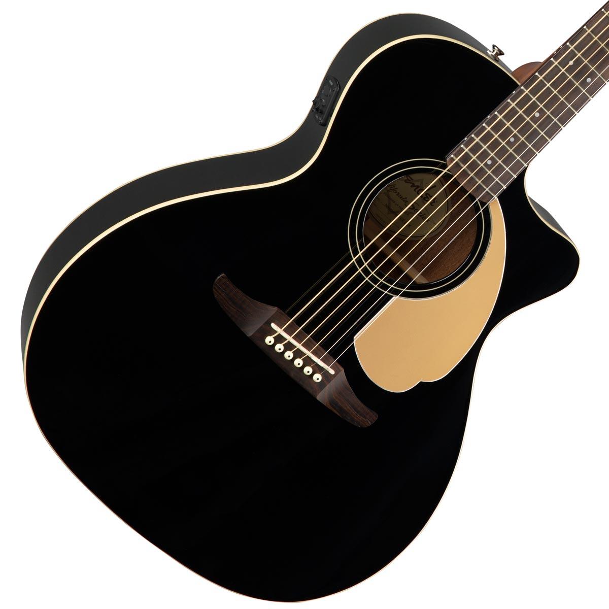 FENDER / NEWPORTER PLAYER Jetty Black (JTB) 【CALIFORNIA SERIES】フェンダー アコースティックギター【新宿店】