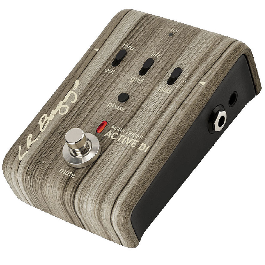 L.R.Baggs / ACTIVE DI All-Discrete Active DI with Pedalboard-friendly Functionality【ALIGN SERIES】 エルアールバッグス 《お取り寄せ商品》【渋谷店】