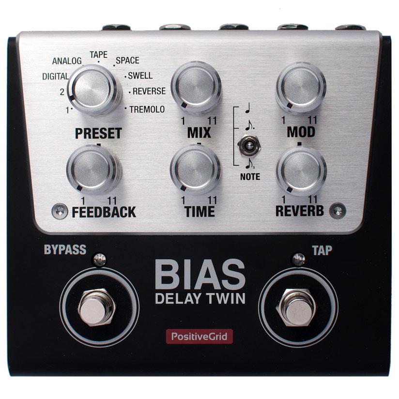 Positive Grid / BIAS Delay Twin [ディレイ] 【今ならコンパクトチューナープレゼント中!】【数量限定 新品超特価!】【SALE2018】【渋谷店】