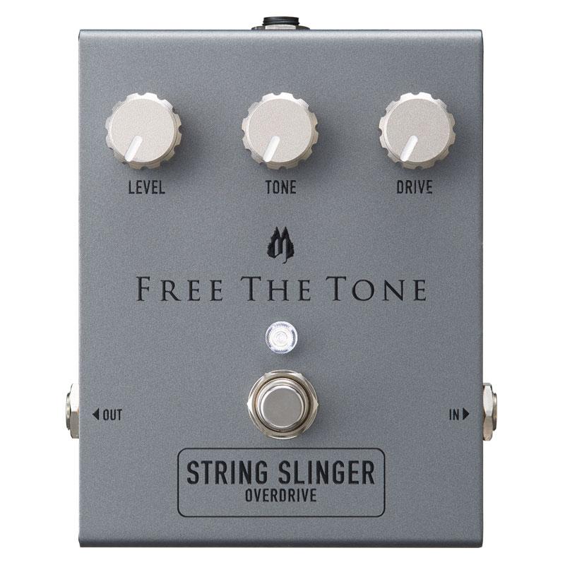 FREE THE TONE / SS-1V STRING SLINGER Overdrive ≪予約注文/5月21日発売予定≫ [フリーザトーン][オーバードライブ]【御茶ノ水本店】