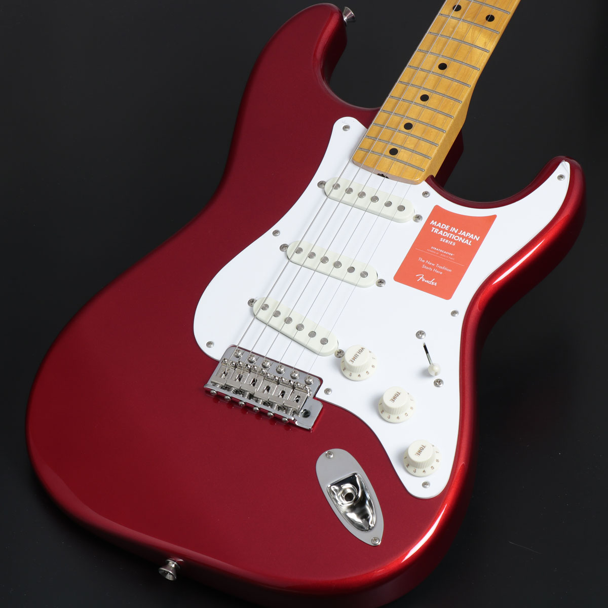Fender / Made In Japan Traditional 50s Stratocaster Candy Apple Red Maple Fingerboard【御茶ノ水本店】