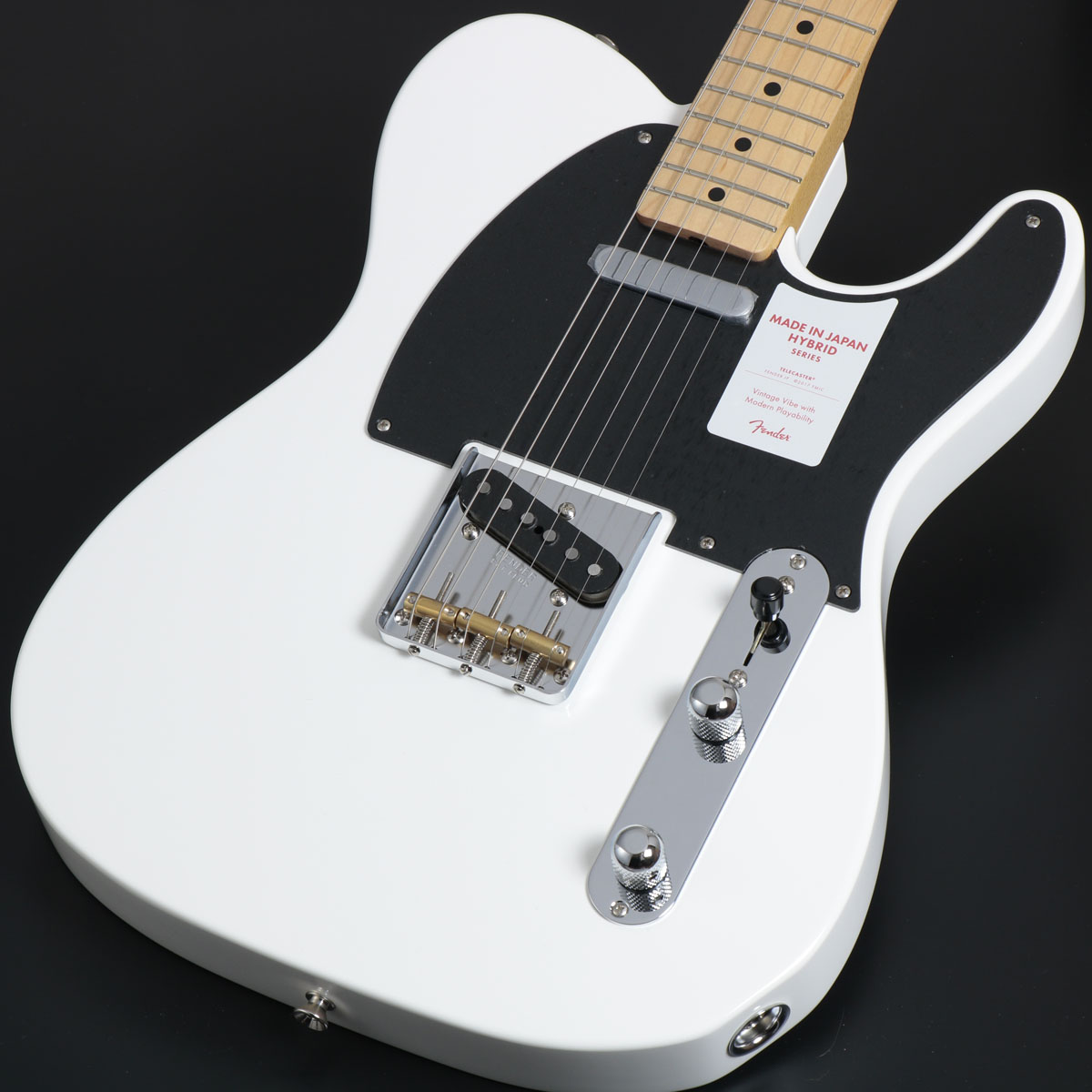 Fender / Made In Japan Hybrid 50s Telecaster Arctic White【御茶ノ水本店】