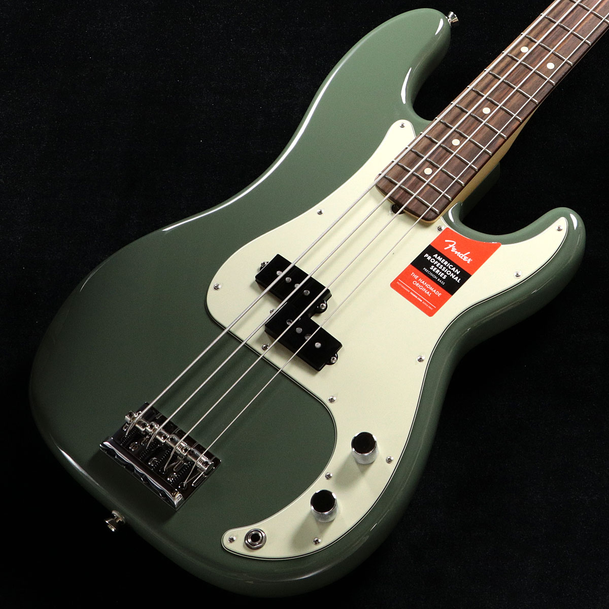 Fender USA / American Pro Precision Bass Antique Olive Rosewood【S/N US17002807】【渋谷店】
