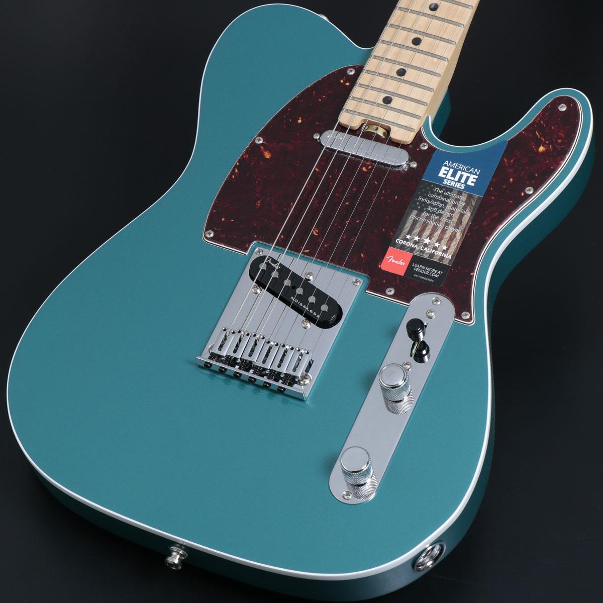 Fender / American Elite Telecaster Maple Fingerboard Ocean Turquoise【御茶ノ水本店】