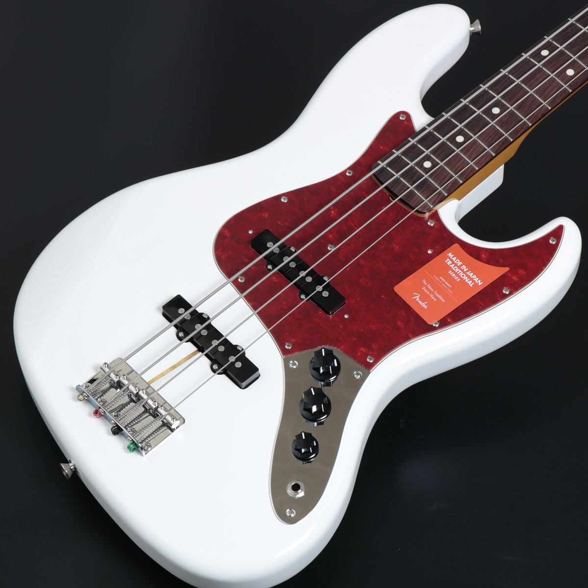 Fender / Made in Japan Traditional 60s Jazz Bass Arctic White【御茶ノ水本店】