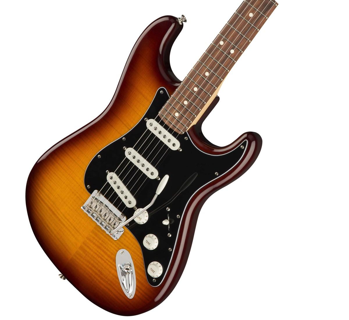 Fender / Player Series Stratocaster Plus Top Tobacco Burst Pau Ferro Fingerborad フェンダー【安心2年保証】【新宿店】