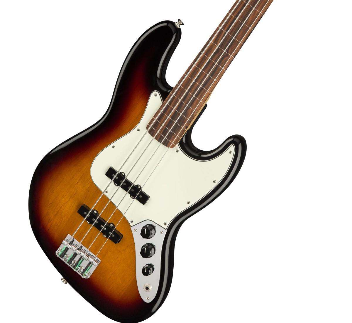 Fender / Player Series Jazz Bass Fretless 3-Color Sunburst / Pau Ferro Fingerboard フェンダー【安心2年保証】【新宿店】