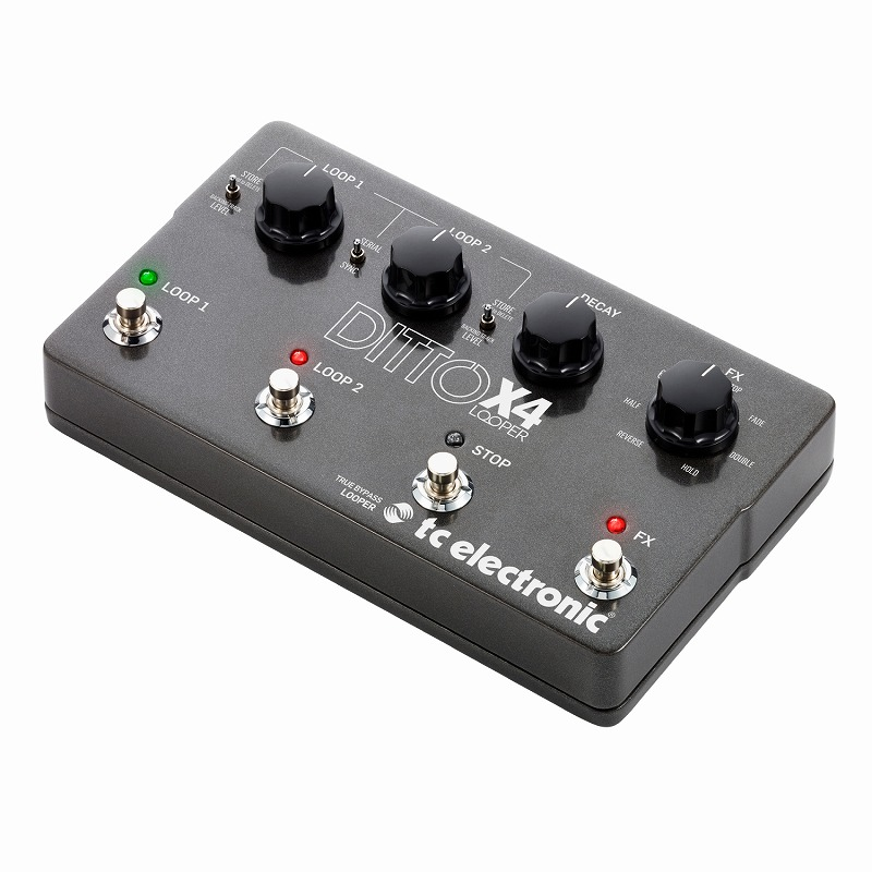 tc electronic / Ditto X4 Looper ルーパー【御茶ノ水本店】
