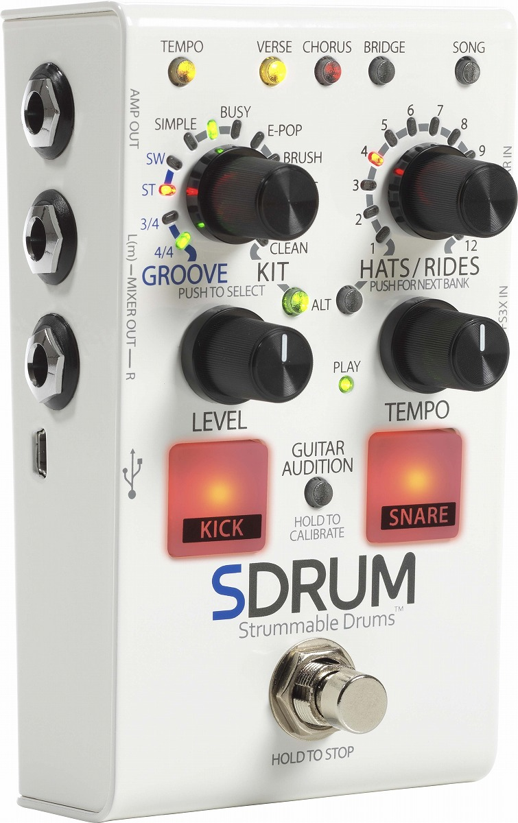 DigiTech / SDRUM Strummable Drums [ドラムマシン]【数量限定特価!】【御茶ノ水本店】
