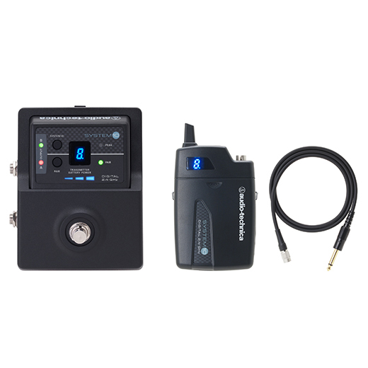 audio-technica / System 10 ATW-1501 Stompbox Digital Guitar Wireless System [ワイヤレスシステム]【渋谷店】