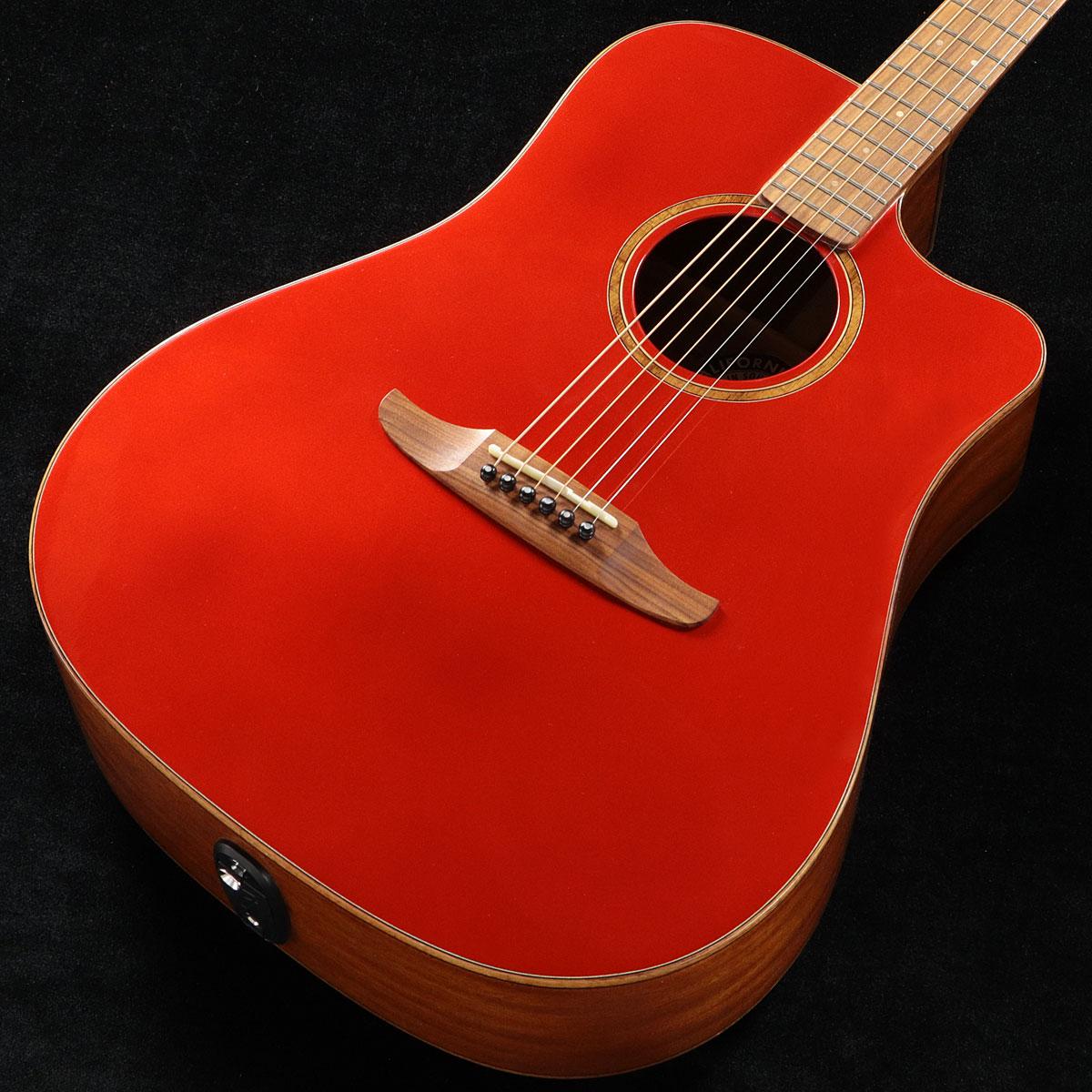 Fender / Redondo Classic Hot Rod Red Metallic (HRM) 【CALIFORNIA SERIES】フェンダー アコースティックギター【渋谷店】