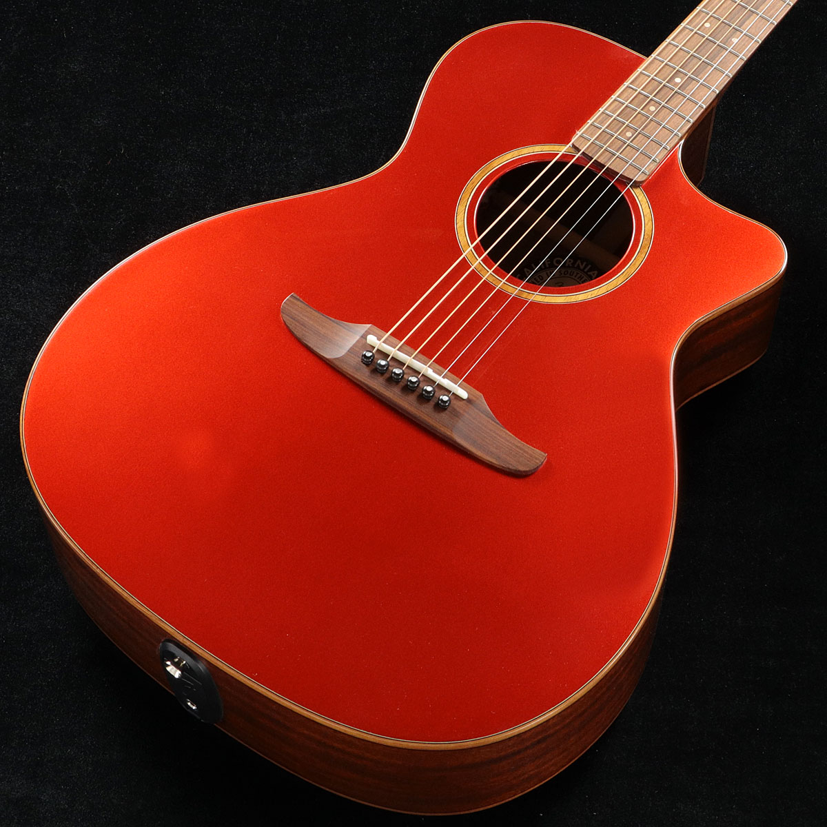 Fender / Newporter Classic Hot Rod Red Metallic (HRM) 【CALIFORNIA SERIES】フェンダー アコースティックギター【渋谷店】