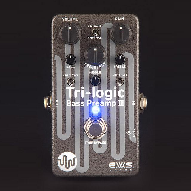 E.W.S. / Tri-logic Bass Preamp 3 [ベース用プリアンプ/オーバードライブ]【渋谷店】
