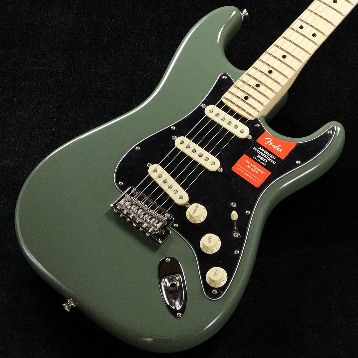Fender USA / American Pro Stratocaster Antique Olive Maple【渋谷店】
