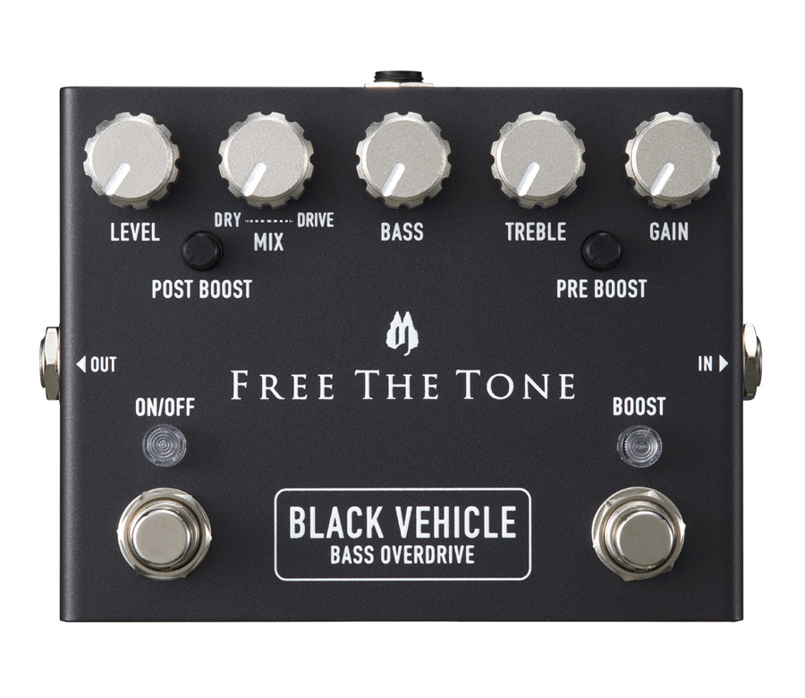 Free The Tone / BV-1V BLACK VEHICLE ベース用オーバードライブ 《予約注文/9月7日発売予定》【御茶ノ水本店】