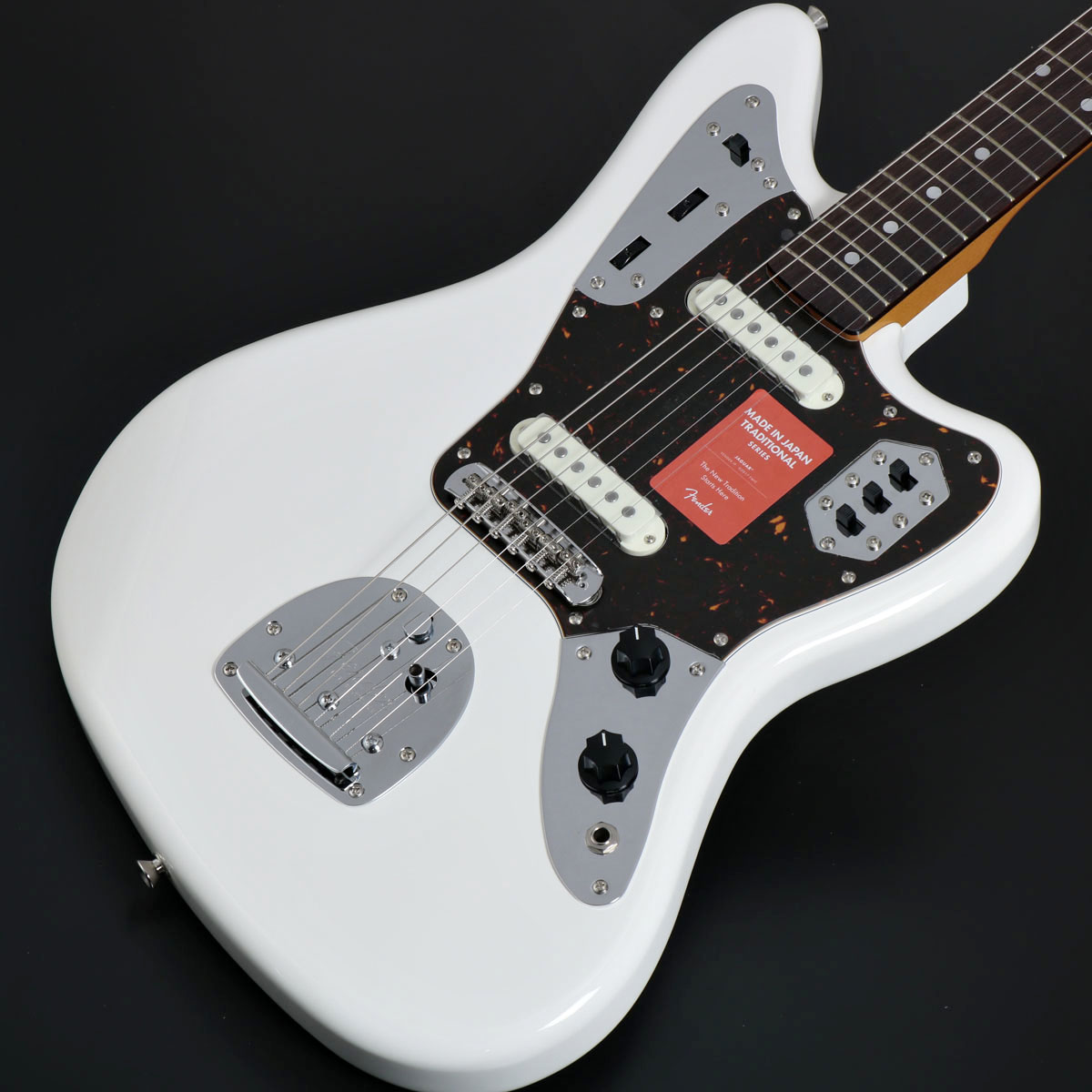 Fender / Made in Japan Traditional 60s Jaguar Arctic White Rosewood Fingerboard【御茶ノ水本店】