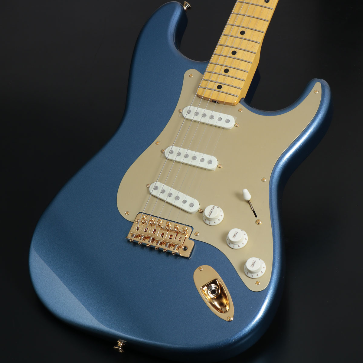 Fender / Made in Japan Traditional 50s Stratocaster Anodized Lake Placid Blue フェンダー【御茶ノ水本店】