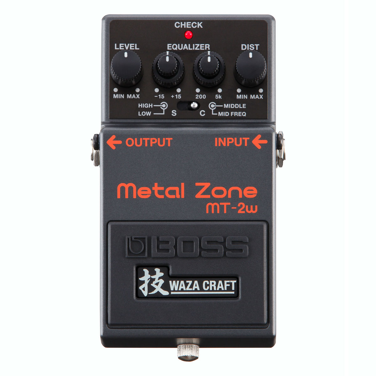 BOSS / MT-2W Metal Zone MADE IN JAPAN 技 Waza Craft 日本製 《予約注文/10月19日発売/納期別途ご案内》【御茶ノ水本店】