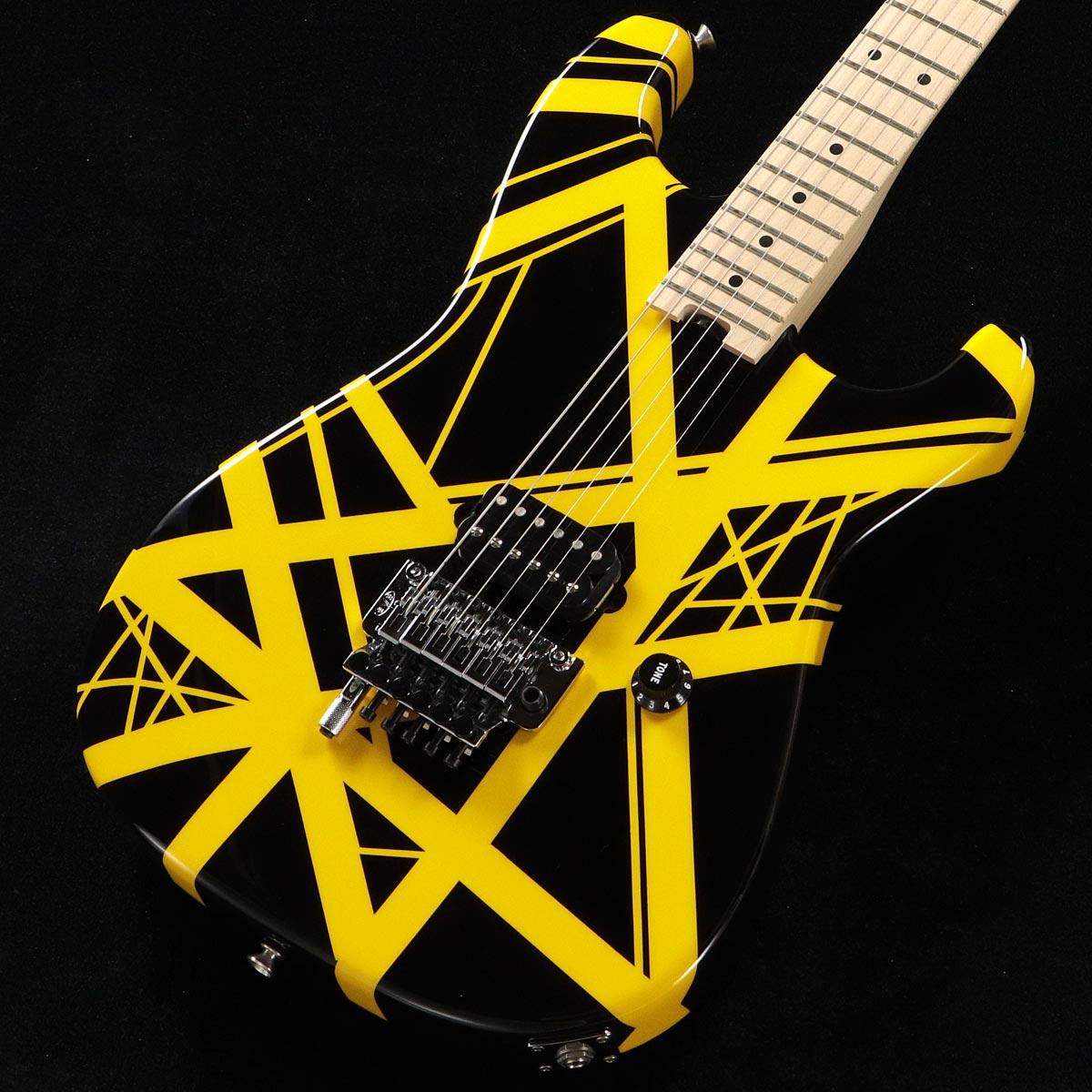 EVH /Striped Series Black with Yellow Stripes【チョイキズアウトレット特価】 イーブイエイチ【渋谷店】