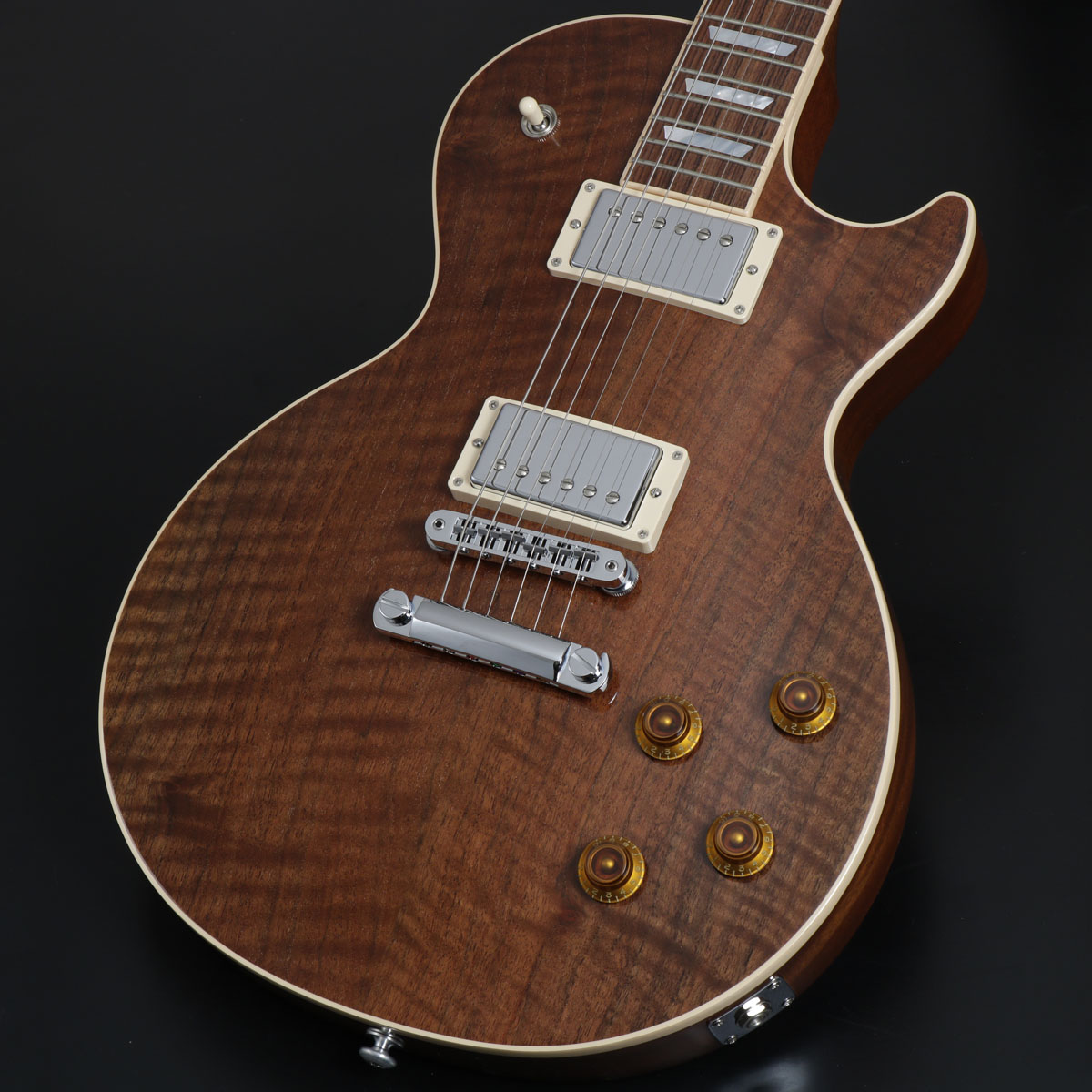 Gibson / 2016 Limited Run Les Paul Standard Figured Walnut Natural【アウトレット特価】【S/N 160019423】【御茶ノ水本店】