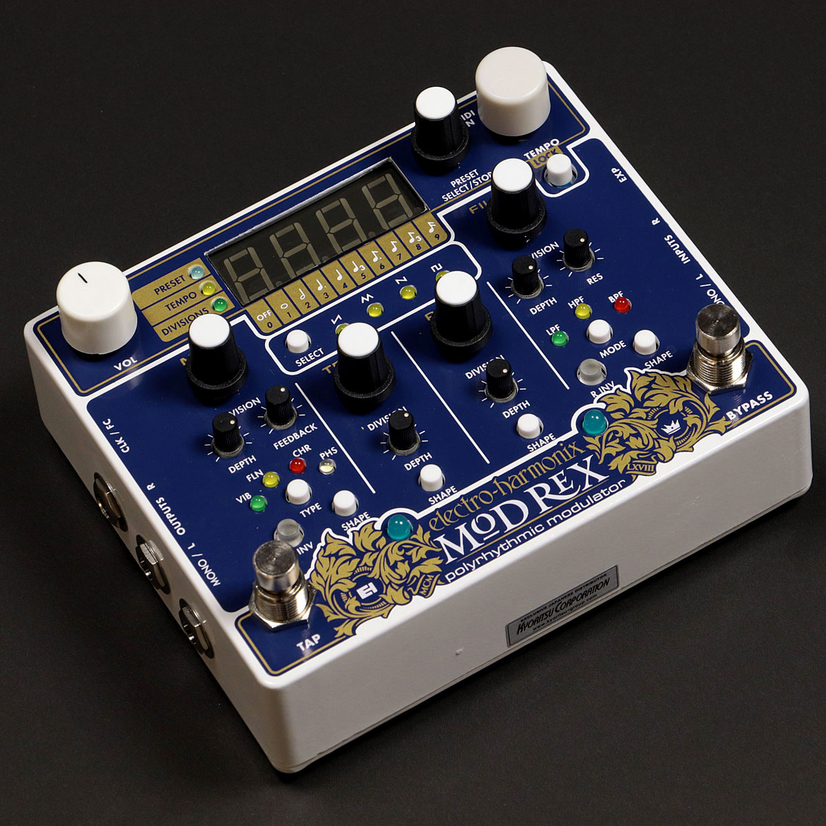 electro-Harmonix / MOD REX Polyrhythmic modulator モジュレーション【渋谷店】