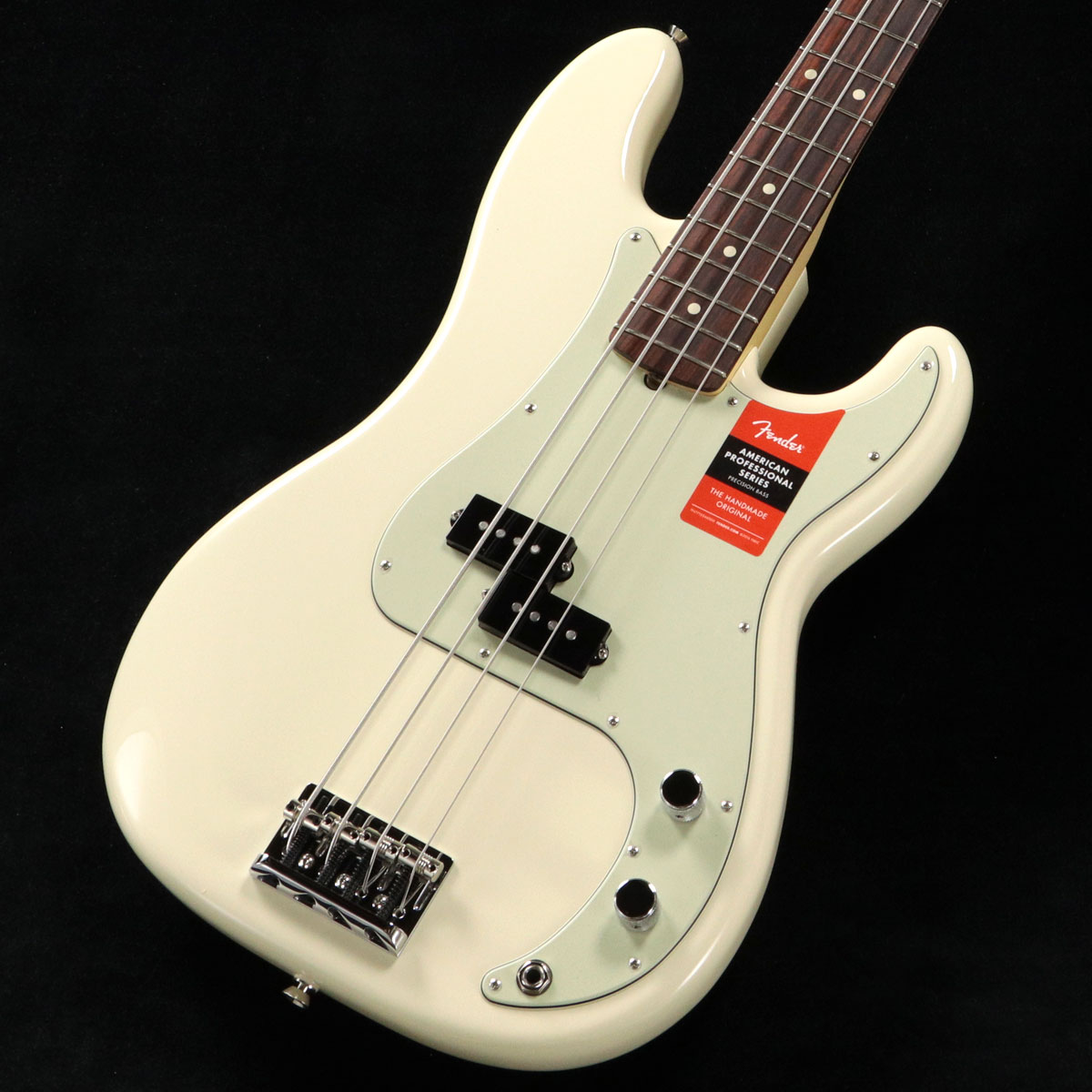 Fender USA / American Pro Precision Bass Olympic White Rosewood フェンダー【渋谷店】
