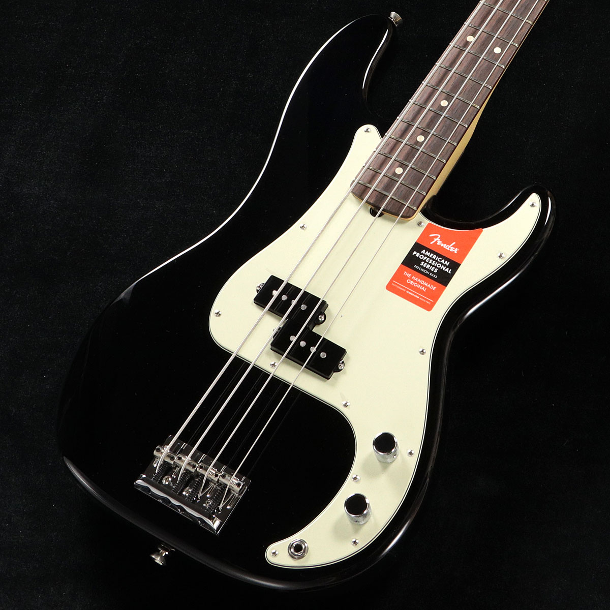 Fender USA / American Pro Precision Bass Black Rosewood【渋谷店】
