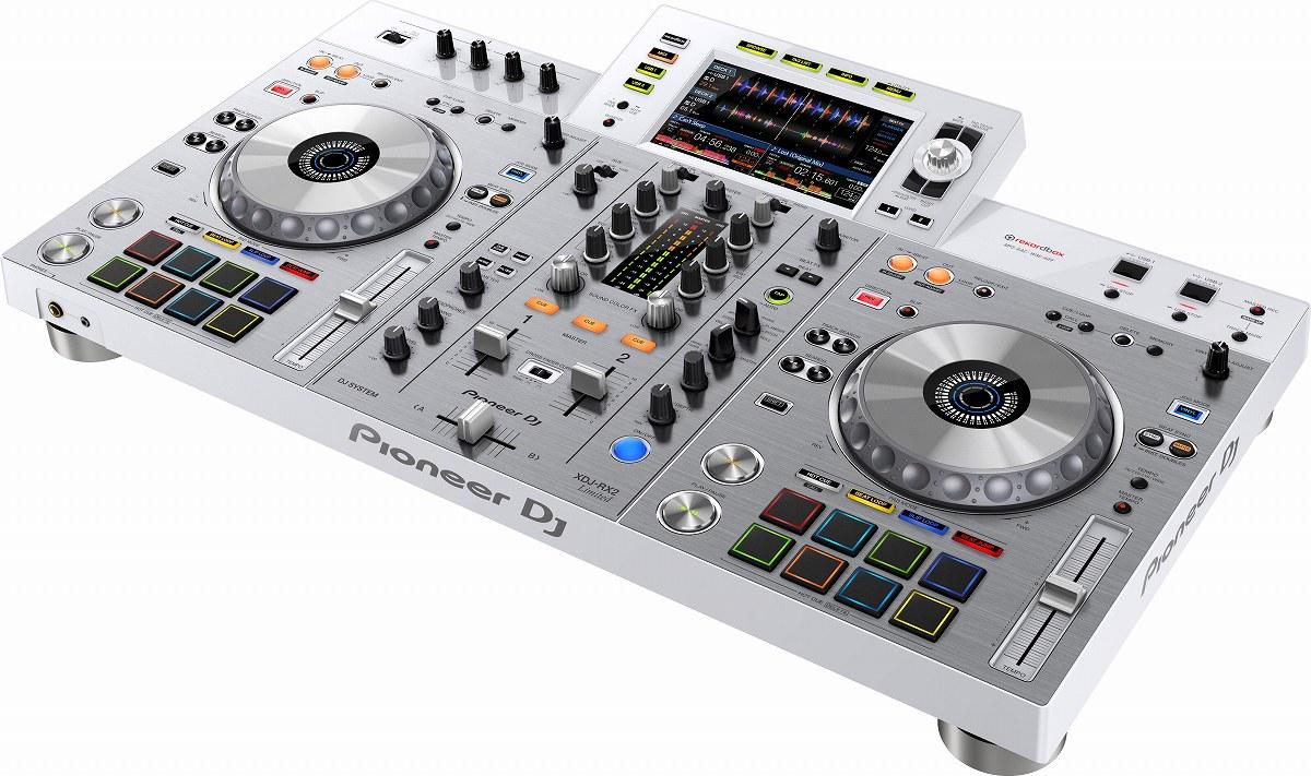 Pioneer DJ パイオニア / XDJ-RX2-W 【台数限定ホワイトカラー】一体型DJシステム【お取り寄せ商品】【御茶ノ水本店】
