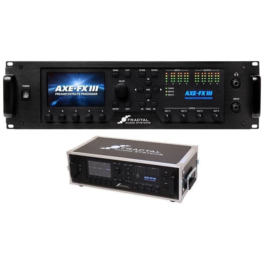 FRACTAL AUDIO SYSTEMS / Axe-Fx III + 3U Rack Case Set【新宿店】